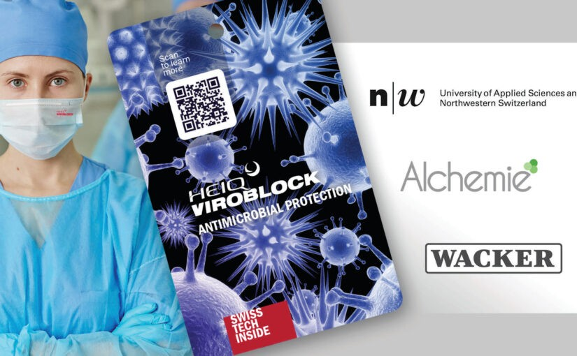 HeiQ announced it had developed a Textile Treatment  called Viroblock NPJ03 That Is Says AntiViral