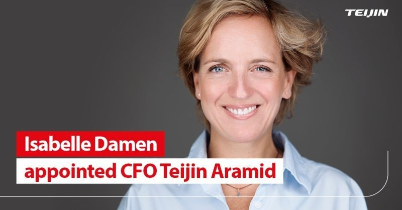 Isabelle Damen is The New CFO of Teijin Aramid